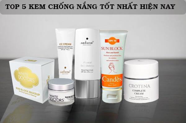 Top 5 Kem Chống Nắng Vừa Bảo Vệ Vừa Hỗ Trợ Make Up Siêu Hiệu Quả