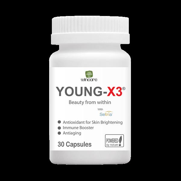 Viên uống trắng da trị nám chống lão hoá WinCare Young X3